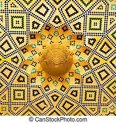 w, iran, przedimek określony przed rzeczownikami, zakon, architektura