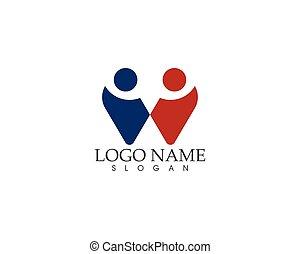W letter logo vector template