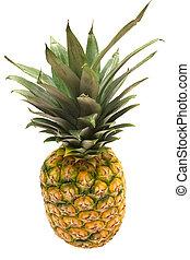 w/, sentier, ananas