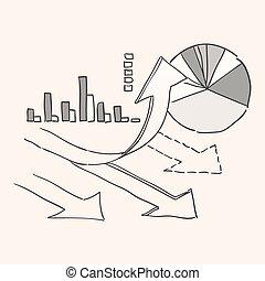 wachstumsdiagramm, diagramm