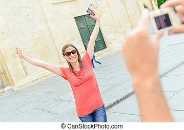 wacky tourist