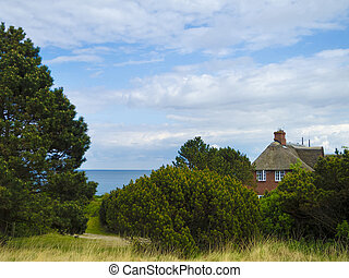 Wadden sea side of sylt - lonesome house with a beautiful ...