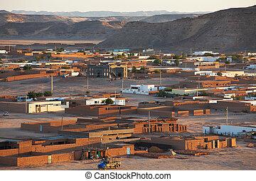Wadi Halfa city in Sudan