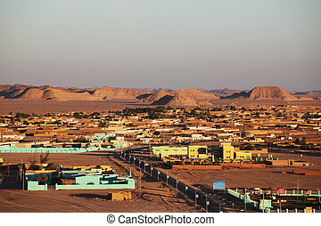 Sudan - Wadi -Halfa in Sudan