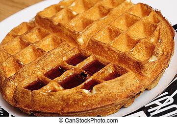 Waffle - A single waffle