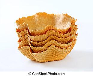Waffle baskets