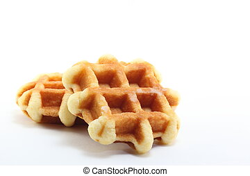 Waffle - I took a picture because it was so delicious waffle...