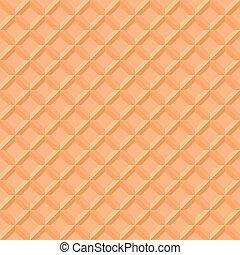 waffle pattern - illustration of a seamless waffle pattern,...