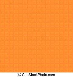 Waffle pattern. Orange Neutral Seamless Pattern for Modern Design in Flat Style.