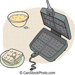Waffle Preparation