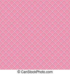 Waffle Seamless Pattern Background Vector Illustration