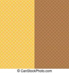 waffle-textures