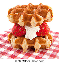 Waffles from Li?ge