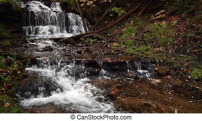 Wagner Falls in Michigan Loop