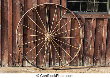 Wagon Wheel Background