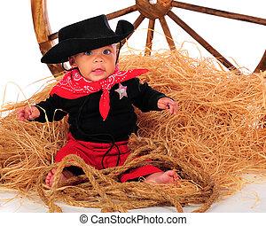 Wagon Wheel Cowboy
