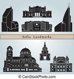 wahrzeichen, sofia, denkmäler