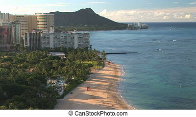 Waikiki Beach & Diamond Head
