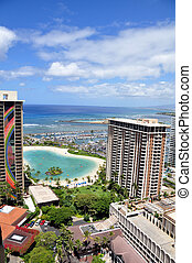 Waikiki Beach. Oahu