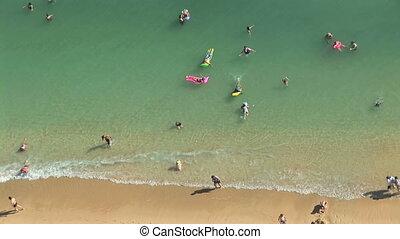 Waikiki Beach, time lapse
