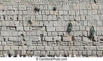 Wailing wall - Wailing wall in Mini Israel