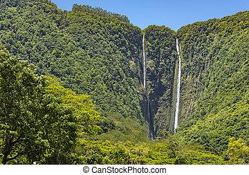 Waipio Falls Big Island Hawaii