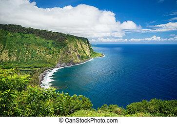 Waipio Valley View on Big Island Hawaii