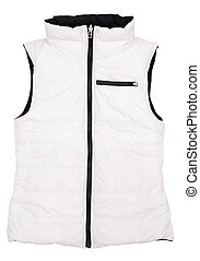 waistcoat - The image of  jacket under the white background