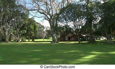 Waitangi grounds - Meeting house