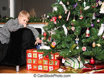 Waiting at christmas