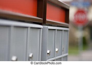 Waiting at the mailbox