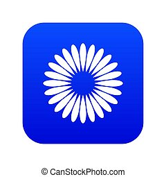 Waiting download icon digital blue
