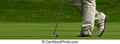 golf - waiting for golf players