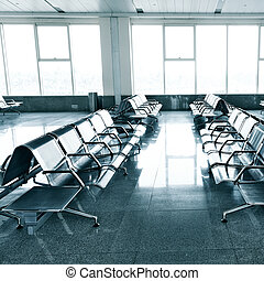 waiting room in the airport
