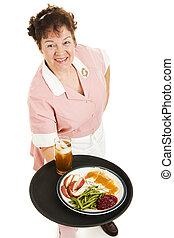 Waitress - Dinner For One
