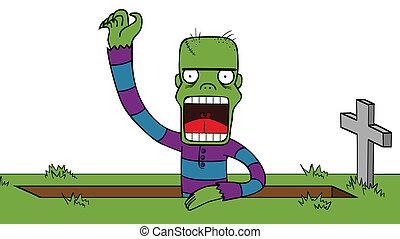 wake up zombie