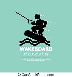 Wakeboard Player Character. - Wakeboard Player Character...