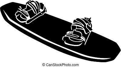 Wakeboarding board equipment
