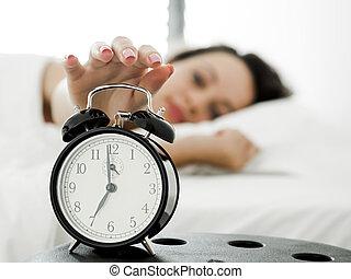 wakeup, tiempo