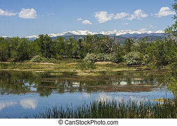 Walden Pond in Boulder Colorado