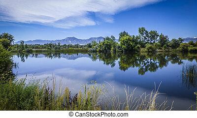 Walden Pond Hiking Trail in Boulder Colorado
