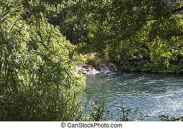 waldländer, und, wasser, reserve, von, krka, nationalpark