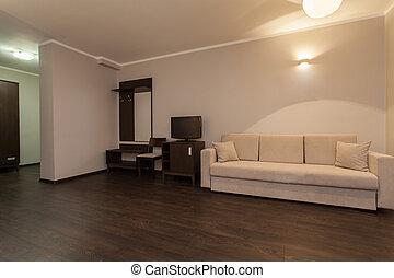 waldland, hotel, -, wohnzimmer