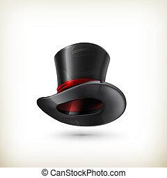 walec, wektor, kapelusz
