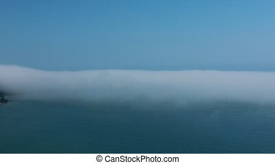 Wales coast, sea mist - The timelapse of sea mist near Wales...