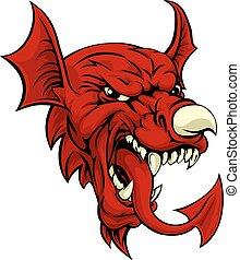walesi, sárkány
