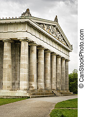 Walhalla Bavaria - Image of the Walhalla in Bavaria Germany...