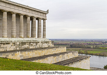 Walhalla memorial in Gerrmany - scenery around the Walhalla...