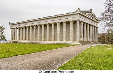Walhalla memorial in Gerrmany - scenery including the...