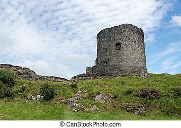 walia, llanberis, dolbadarn zamek